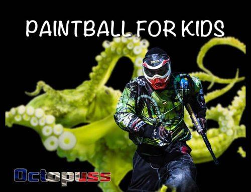 Paintball for Kids – le paint au secours des enfants