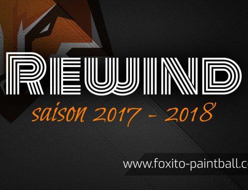 Retour sur la saison de paintball 2017 – 2018